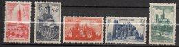1947--Série De Tps  N° 772 / 776 --Cathédrales Et Basiliques  -- Cote  12,50 € --..............à Saisir - France