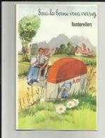 88 - Vosges - Rambervillers - Carte à Système Dépliant , Complet De Ses 10 Vues - Scooter- - Rambervillers