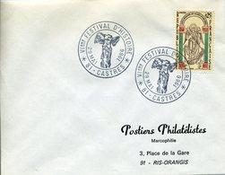 CASTRES 1966 6e FESTIVAL D'HISTOIRE Victoire De Samothrace Antiquité Art Sculpture - Storia Postale