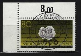 BUND Mi-Nr. 1163 Eckrandstück Links Oben Gestempelt - Usati