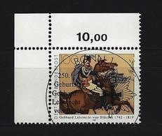 BUND Mi-Nr. 1641 Eckrandstück Links Oben Gestempelt - [7] République Fédérale