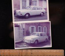 Photographie Photo Automobiles Auto VW VOLKSWAGEN 1600 Wagen Car Voiture Automobile - Cars