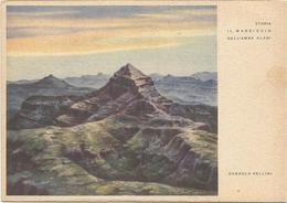 Y4584 Etiopia - Il Massiccio Dell'Amba Alagi - Illustrazione Illustration Dandolo Bellini / Non Viaggiata - Etiopia