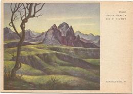Y4586/87 Etiopia - L'Alto Tigrai A Sud Di Hausien - Illustrazione Illustration Dandolo Bellini / Non Viaggiata - Etiopia
