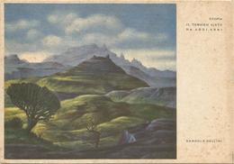 Y4588 Etiopia - Il Tembien Visto Da Addi Abbi - Illustrazione Illustration Dandolo Bellini / Non Viaggiata - Etiopia