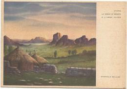 Y4589/90 Etiopia - La Conca Di Senafè E L'Amba Adanà - Illustrazione Illustration Dandolo Bellini / Non Viaggiata - Etiopia