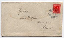 1930 KINGDOM OF SHS, SLOVENIA, TPO 77 KAMNIK-LJUBLJANA, SENT TO SABAC, SERBIA - Storia Postale