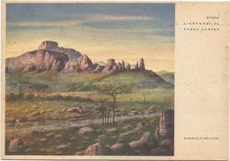 Y4591 Etiopia - L'Artebei Al Passo Uarieu - Illustrazione Illustration Dandolo Bellini / Non Viaggiata - Etiopia