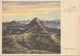 Y4592 Etiopia - Il Massiccio Dell'Amba Alagi - Illustrazione Illustration Dandolo Bellini / Non Viaggiata - Etiopia
