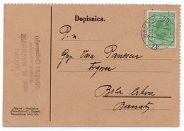 1928 KINGDOM OF SHS, SLOVENIA, TPO 72 KAMNIK-LJUBLJANA, SENT TO BELA CRKVA, SERBIA - 1919-1929 Kingdom Of Serbs, Croats And Slovenes