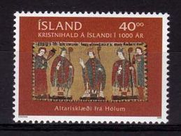 2000 - VATICANO-ISLANDA, Cristianesimo In Islanda - MNH ** - Joint Issues