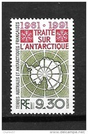 TAAF: N°162** Carte Du Continent - Ungebraucht