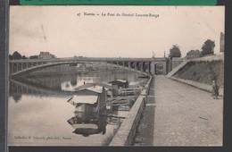 NANTES - Le Pont Du Général Lamotte-Rouge - ANIMÉE [ Bateau-Lavoir ] RARE - Nantes