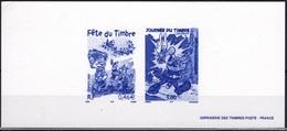 FRANCE 3225 3467 Boule Bill Roba ASTERIX GOSCINNY UDERZO Gravure Héliogravure Monochrome Imprimerie Timbres-poste [GR] - Comics