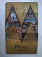 Philippines Hotel Key, I'M Hotel,  (1pcs) - Hotelkarten