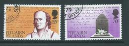 Pitcairn Islands 1979 John Adams Set Of 2 FU - Pitcairn Islands