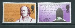 Pitcairn Islands 1979 John Adams Set Of 2 MNH - Pitcairn Islands