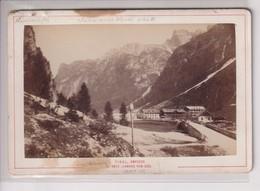 AMPEZZO LANDRO VON SUD  MARIENKOFEL SCHWARZE WAND AUSTRIA TIROL Tyrol, Austria 16*10CM Fonds Victor FORBIN 1864-1947 - Foto