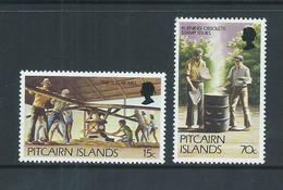 Pitcairn Islands 1981 15c & 70c New Value Definitives MNH - Pitcairn Islands