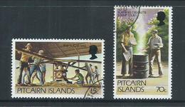 Pitcairn Islands 1981 15c & 70c New Value Definitives FU - Pitcairn Islands