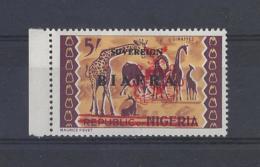 "NIGERIA.."" BIAFRA "".....QUEEN ELIZABETH II.(1952-NOW)..."" 1968.""...5/-.....SG14....MARGINAL......MNH.... - Nigeria (1961-...)"