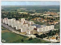 """Carte Postale 77. Lagny  Cité HLM  """"Beau Site""""  Vue Aérienne Très Beau Plan - Lagny Sur Marne"""