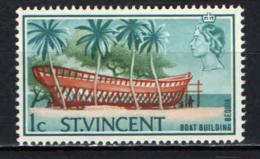 ST. VINCENT - 1965 - Boat Building, Bequia - MNH - St.Vincent (...-1979)