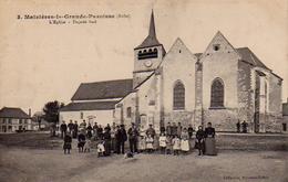 S50-006 Maizières-la-Grande-Paroisse - L'Eglise - Façade Sud - Other Municipalities