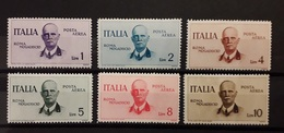 Italia Regno 1934 Posta Aerea  Volo Roma Mogadiscio Serie Completa MLH - 1900-44 Vittorio Emanuele III