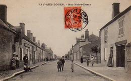 S50-013 Fay-aux-Loges - Rue Notre-Dame - France
