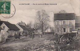 S50-024 La Châtelaine - Rue Du Centre Et Maison Communale - Other Municipalities