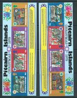 Pitcairn Islands 1979 Christmas IYC Miniature Sheet Both MNH & VFU - Stamps