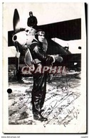 Photo Dedicacee Dessois Parachutiste - Aviation