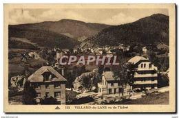 CPA Villard De Lans Vu De I&#39Adret - Villard-de-Lans