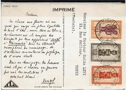 LCTN59/LE/2 - CONGO BELGE CARTE POSTALE IONYL - 1947-60: Briefe U. Dokumente