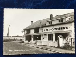 """Hèze-----2 Cpa--""""Les Pommiers-pension-restaurant"""" - Grez-Doiceau"""