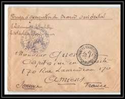 1972 Casablanca Force Publique 1/1/1913 Lettre Cover France Guerre Maroc War - Marcophilie (Lettres)