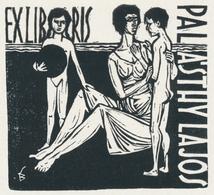 Ex Libris Lajos Palasthy - Béla Stettner - Ex-libris