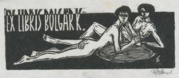 Ex Libris Bolgar K. - Béla Stettner Gesigneerd - Ex-libris