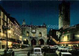 73606650 Bergamo Di Notte Piazza Vecchia Bergamo - Italia