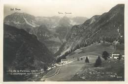 """CPA FRANCE 74 """"Le Col De La Forclaz"""" - Other Municipalities"""