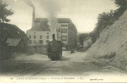 88  SAINT ETIENNE - TRAMWAY DE GERARDMER (ref 7290) - Saint Etienne De Remiremont
