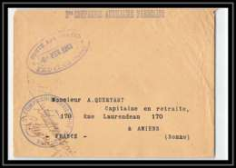 2410 3ème Compagnie Auxiliaire Fedalah 6/2/1913 Lettre Cover France Guerre Maroc War - Marcophilie (Lettres)