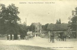 88  MARNAVAL - PLACE DES PETITS FOURNEAUX - AVENUE DES PONTS (ref 7296) - Otros Municipios