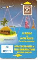 * < PF4A ¤ Le Monde à Votre Porte - SC4 Trou 7 Mm - Lot 27520 - 2500ex - LUXE - French Polynesia