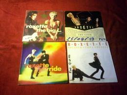ROXETTE  °  COLLECTION DE 4 VINYLES 45 TOURS - Musique & Instruments