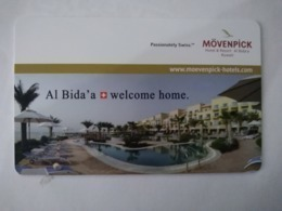 Kuwait Hotel Key, Movenpick Hotel & Resort Al Bida'a Kuwait (1pcs) - Hotelkarten