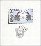 ** Slovakia - 1996 - Olympic Games 1996 - Mi. (253), Bl. 7 - Estate 1996: Atlanta