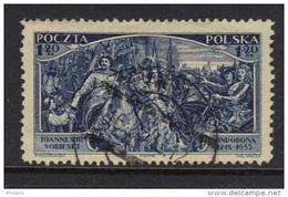 POLOGNE YT 367 OBL (CANCEL). (3TP46) - 1919-1939 République