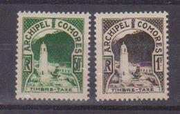 COMORES    N°  YVERT  : TAXE 1/2   NEUF AVEC  CHARNIERES      (  CH  01/47 ) - Comores (1950-1975)